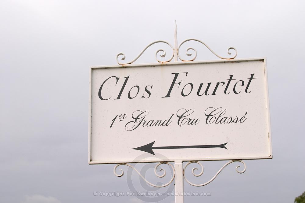 Chateau Clos Fourtet, Saint Emilion, Bordeaux, France