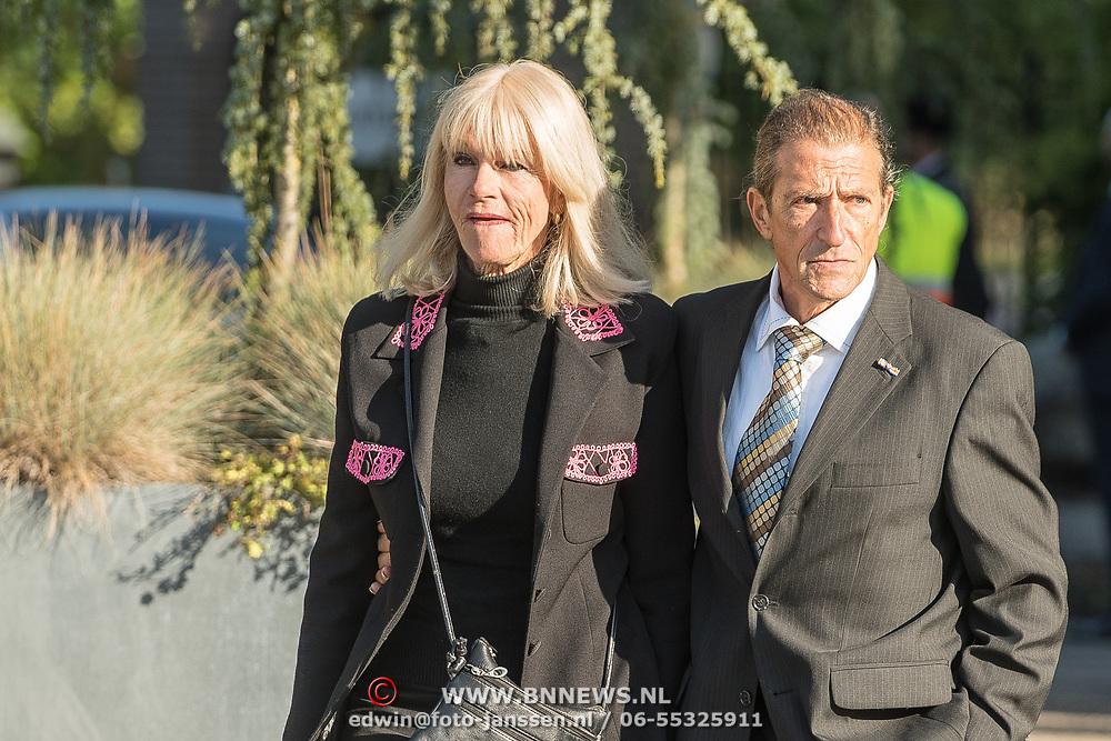 NLD/Leusden/20181005 - Bn-ers nemen afscheid van Koos Alberts, Saskia en Serge