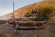 Hawaiian canoe, Kealakekua Bay, Island Of Hawaii