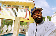 Beresford Hammond at home in Jamaica