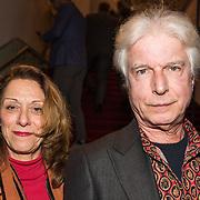 NLD/Amsterdam/20190206- De Waarheid premiere, Boudewijn de Groot en partner Anja Bak