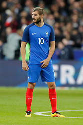 France's Andre-Pierre Gignac during the Friendly International Soccer match, France vs Russia at Stade de France in Saint-Denis, suburb of Paris, France on March 29th, 2016. France won 4-2. Photo by Henri Szwarc/ABACAPRESS.COM