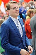 Koningsdag 2014 in Amstelveen, het vieren van de verjaardag van de koning. / Kingsday 2014 in Amstelveen, celebrating the birthday of the King. <br /> <br /> <br /> Op de foto / On the photo:  Prins Constantijn  / Prince Constantijn