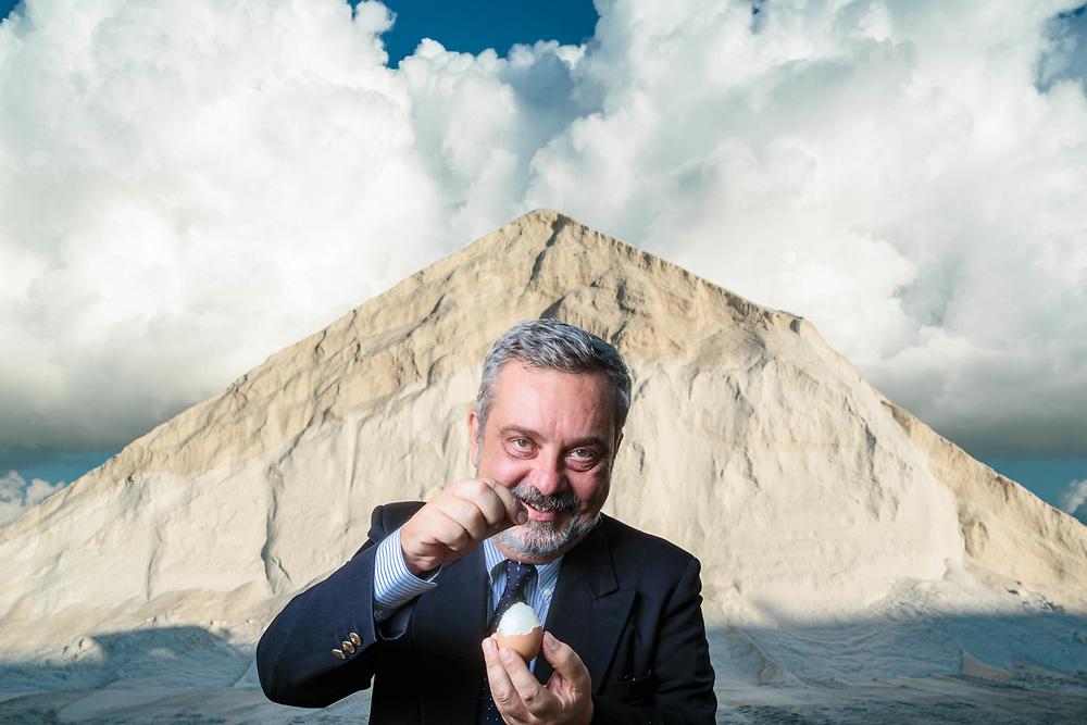 "02 NOV 2016 - Trapani - ""SoSalt"", saline di Trapani: Giacomo D'Alì Staiti, presidente."