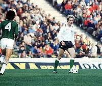 KARL HEINZ RUMMENIGGE <br />WEST GERMANY WORLD CUP 1978<br />WEST GERMANY V HOLLAND (2-2) 18/06/1974 WORLD CUP 1978<br />PHOTO ROGER PARKER FOTOSPORTS INTERNATIONAL