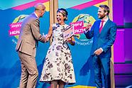Koningin Maxima is donderdagmiddag 28 september aanwezig bij het congres World of Health Care in de