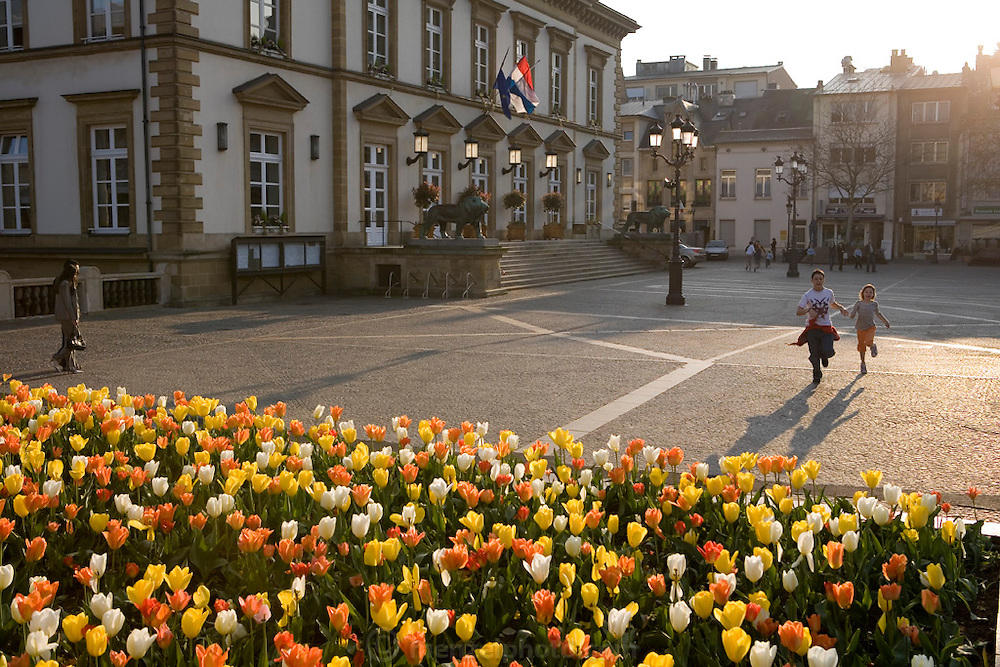 Luxembourg Town Hall, Luxembourg.