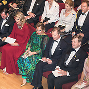 LUX/Luxemburg/20180524 - Staatsbezoek Luxemburg dag 2,  Koning Willem Alexander, Koningin Maxima, Groothertog Henri , Groothertogin Maria Teresa Erfgroothertog Guillaume  en Erfhertogin Stephanie