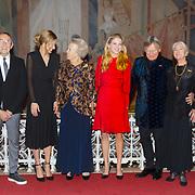 NLD/Amsterdam/20181119 - Beatrix bij 21e Nederlands Balletgala Dansersfonds '79, pr. Beatrix oa met Han Ebelaar en Alexandra Radius en .......