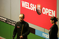 Ian Preece of Wales. Welsh Open Snooker at the Newport Centre, Feb 2009