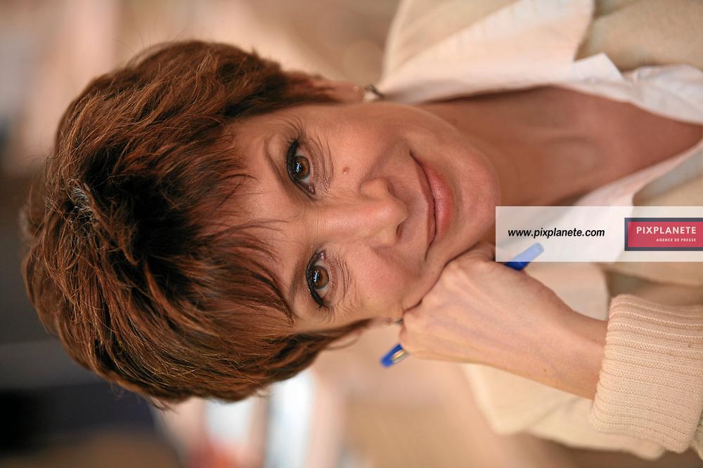 Catherine Laborde - - Salon du livre 2007 - Paris, le 24/02/2007 - JSB / PixPlanete