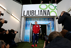 Wayne Rooney of England arrives at The SRC Stozice Stadium ahead of the World Cup Qualifier against Slovenia - Mandatory by-line: Robbie Stephenson/JMP - 10/10/2016 - FOOTBALL - SRC Stozice - Ljubljana, England - England Press Conference