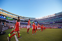 NEW JERSEY, USA - Wednesday, August 3, 2016: Real Madrid's xxxx in action against Bayern München during the International Champions Cup match at the Red Bull Arena. (Pic by David Rawcliffe/Propaganda)