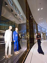 Gucci boutique at The Dubai Mall in Dubai United Arab Emirates