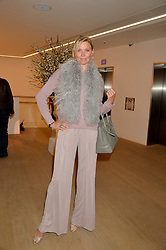 JODIE KIDD at an evening of Fashion, Art & design hosted by Ralph Lauren and Phillips at the new Phillips Gallery, 50 Berkeley Square, London on 22nd October 2014.