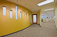 Interior images of Frederick MD Veterans Affairs Administration Building by Architectural Photographer Jeffrey Sauers
