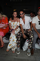 Guests attend Revival Swimwear Runway Show Hosted by Klarna STYLE360 NYFW on September 11, 2019 in New York City