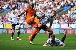 Benik Afobe of Wolverhampton Wanderers fires a shot at goal - Mandatory by-line: Matt McNulty/JMP - 21/04/2018 - FOOTBALL - Macron Stadium - Bolton, England - Bolton Wanderers v Wolverhampton Wanderers - Sky Bet Championship