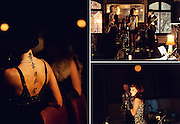 Editorial Travel Photography: Nightlife event of jazz band performing in a bar at night in Montreal, Quebec, Canada