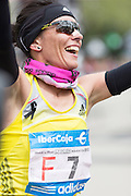 Vanesa Veiga ComesaÒa, Winner of female runners in 2013 Madrid Marathon