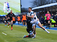 Rugby Union - 2019 / 2020 Gallagher Premiership - Saracens vs. Bristol Bears<br /> <br /> Bristol Bears' Andy Uren is tackled by Saracens' Elliot Daly, at Allianz Park.<br /> <br /> COLORSPORT/ASHLEY WESTERN
