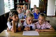 San Ignacio, school at  Mennonite settlement of Spanish Lookout.