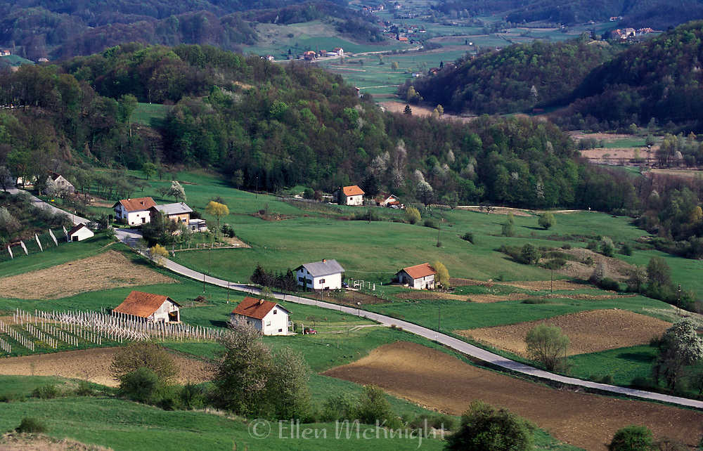 View from Castle Veliki Tabor in Croatia