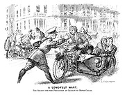 A long-felt want. The society for the prevention of cruety to motor-cycles.