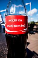 19-09-2015: Albatross Golfresort in Vysoky Ujezd, Tsjechië.<br /> Foto: Coca Cola: een kusje voor een mooie onbekende
