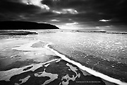 Low tide at Porth Neigwl on the Llyn Peninsula, North Wales.