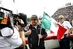 October 28, 2018 - Mexico-City, Mexico - Motorsports: FIA Formula One World Championship 2018, Grand Prix of Mexico, ..#14 Fernando Alonso (ESP, McLaren F1 Team) (Credit Image: © Hoch Zwei via ZUMA Wire)