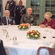 NLD/Hilversum/20180829 -   Prinses Beatrix bij Genootschap van Engelandvaarders, Prinses Beatrix en Luitenant-generaal J.F.A.M. van Griensven