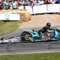 Puma Gulf (2015) of King Racing, Ian King at the Goodwood FOS on 28 June 2015