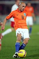 Fotball<br /> Holland / Nederland v Luxemburg<br /> 17.11.2007<br /> Foto: Gepa/Digitalsport<br /> NORWAY ONLY<br /> <br /> Demy de Zeeuw (NED)