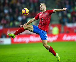 November 15, 2018 - Gdansk, Poland - Pavel Kaderabek of Czech Republic during the international friendly soccer match between Poland and Czech Republic at Energa Stadium in Gdansk, Poland on 15 November 2018. (Credit Image: © Foto Olimpik/NurPhoto via ZUMA Press)