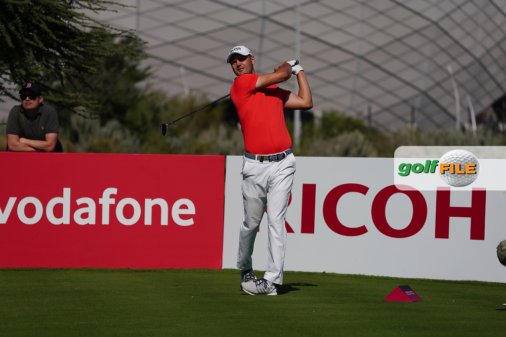 Martin Kaymer (GER) on the 11th during Round 1 of the Commercial Bank Qatar Masters 2020 at the Education City Golf Club, Doha, Qatar . 05/03/2020<br /> Picture: Golffile   Thos Caffrey<br /> <br /> <br /> All photo usage must carry mandatory copyright credit (© Golffile   Thos Caffrey)