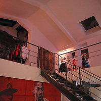 12 July 2013: view of the D Rose place, home of the Adidas' D Rose tour in Paris, France.