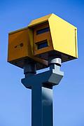 Double speed cameras, one pointing in each direction on Forest Road. Walthamstow, London.