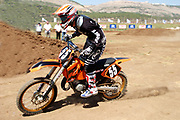 Cross country motorbike race