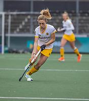 AMSTELVEEN - Laura Nunnink (DenBosch) tijdens de halve finale wedstrijd dames EURO HOCKEY LEAGUE (EHL),  Amsterdam-HC Den Bosch. (1-1) Den Bosch wint shoot outs en plaats zich voor de finale.  COPYRIGHT  KOEN SUYK