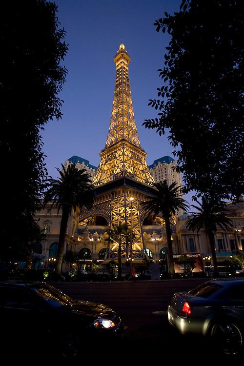 Paris Hotel and Casino in Las Vegas.