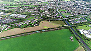 Aerial Photos Tullamore County Offaly 12-9-18 Sarh Castle Train Railway Canal, Lock Town