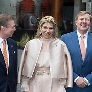 LUX/Luxembug/2 Maxima0180524 - Staatbezoek Luxemburg 2018 dag 2, aankomst Willem-Alexander en Maxima, Groothertog Henri