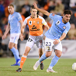 BRISBANE, AUSTRALIA - AUGUST 7:  during the FFA Cup Round of 32 match between Brisbane Roar and Melbourne City on August 7, 2018 in Brisbane, Australia. (Photo by Brisbane Roar / Patrick Kearney)