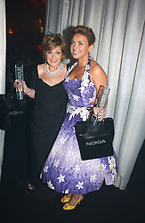CHARLOTTE CHURCH and SHARON OSBOURNE at the 2006 Glamour Women of the Year Awards 2006 held in Berkeley Square Gardens, London W1 on 6th June 2006.<br />
