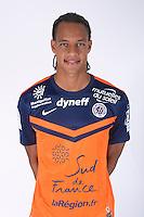 Daniel CONGRE - 23.07.2014 - Portraits officiels Montpellier - Ligue 1 2014/2015<br /> Photo : Icon Sport