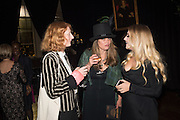 "ALISON WHALLEY; EMMA WHEELER; EMILY KNIGHT, The Veuve Clicquot Widow Series, ""A Beautiful Darkness"" curated by Nick Knight and SHOWstudio, The College, Southampton Row, London, WC1. 28 October 2015"