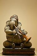 Iconic Ganesha Hindu elephant statue in The Imperial Hotel, New Delhi, India