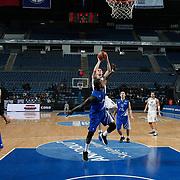 Anadolu Efes's Dusko Savanovic (C) during their Turkish Basketball League match Anadolu Efes between Turk Telekom at Arena in Istanbul, Turkey, Wednesday, January 04, 2012. Photo by TURKPIX