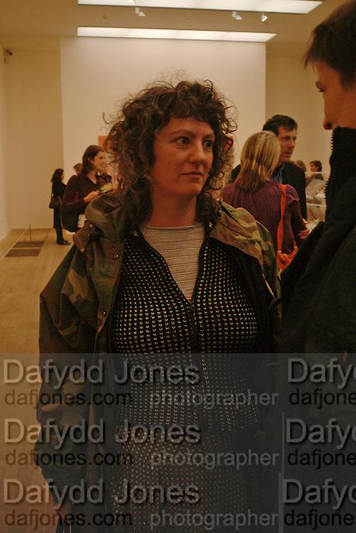 ANYA GALLACIO, Martin Kippenberger, Tate Modern. 7 Febriuary 2006. -DO NOT ARCHIVE-© Copyright Photograph by Dafydd Jones 66 Stockwell Park Rd. London SW9 0DA Tel 020 7733 0108 www.dafjones.com